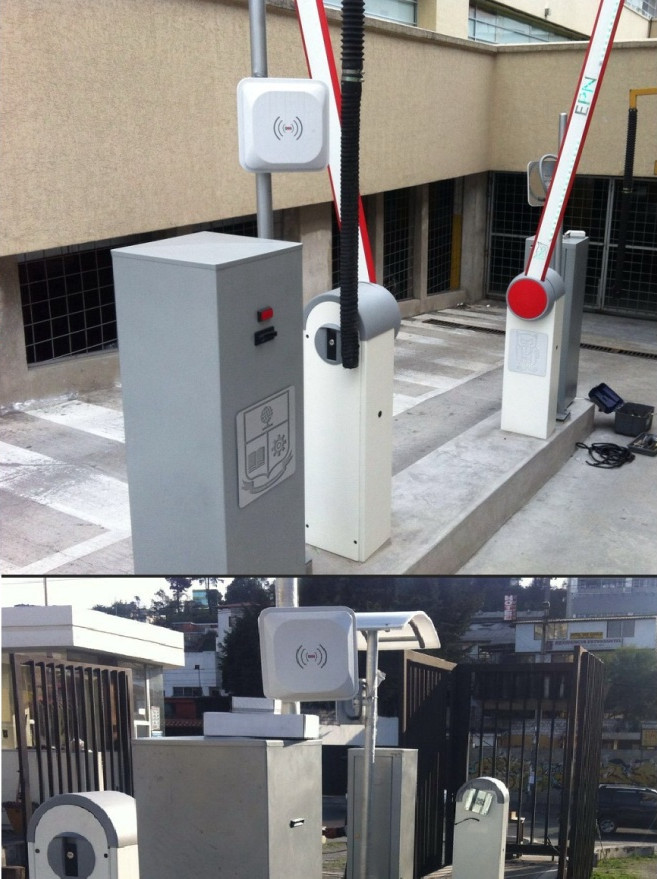 RFID en control de accesos a parkinf de diversos edificios