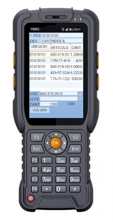 terminal portátil android con lector rfid uhf integrado L7202G3